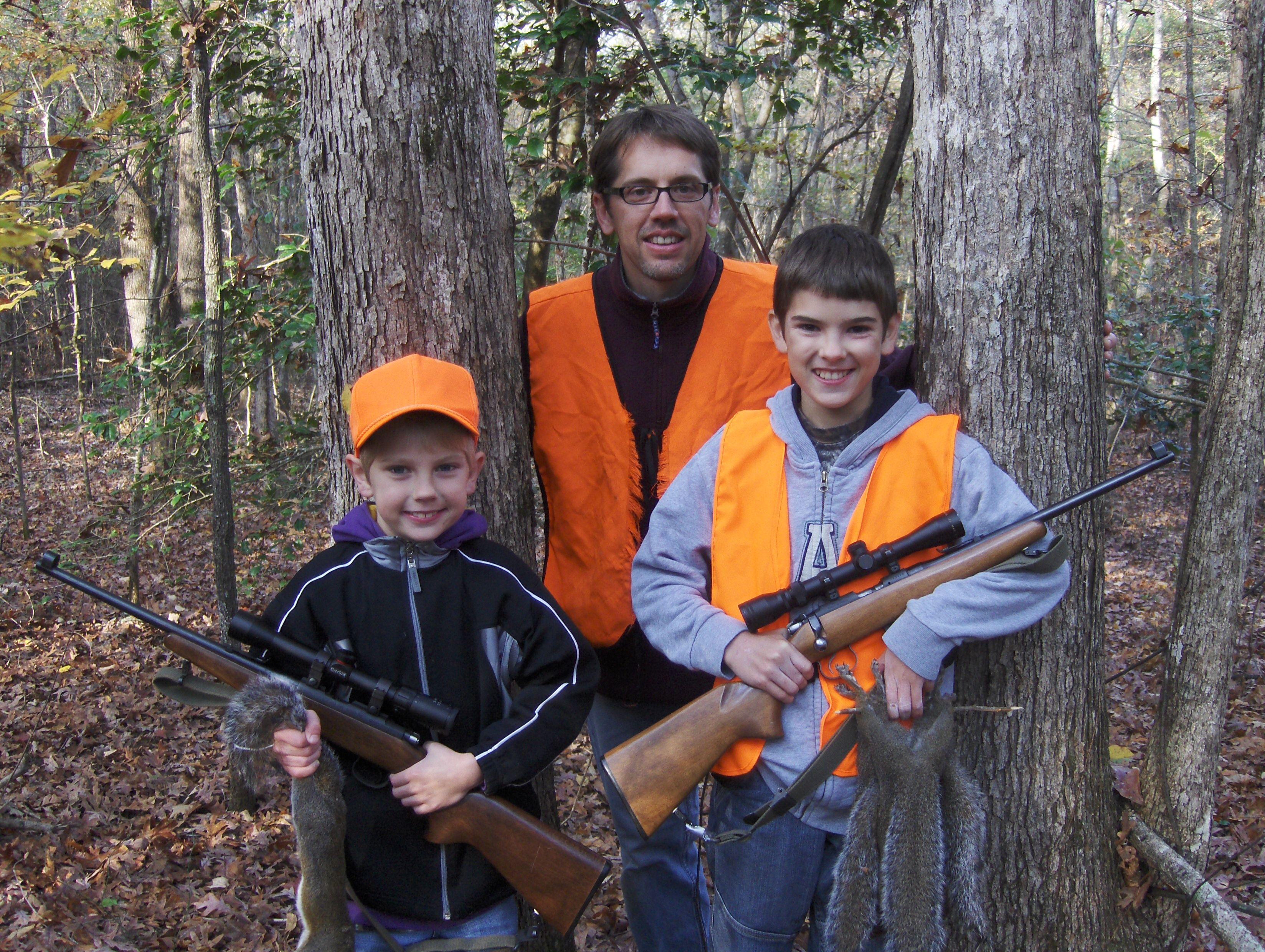 Guys hunting trip