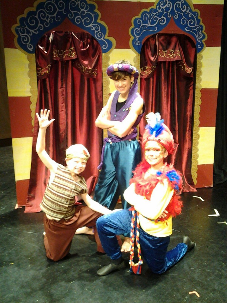 Christian Youth Theatre's Aladdin production!