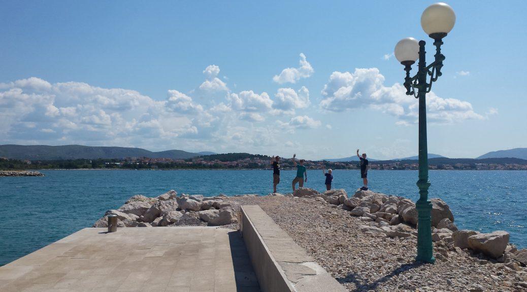 guys on the coast of Croatia