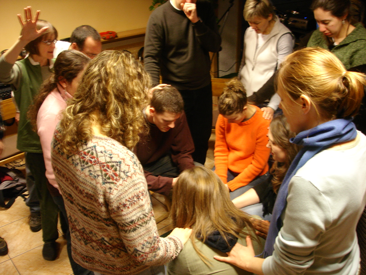 praying for SFC workers in Norway