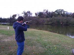 Cajun country's newest gun-toting Belgian;-)