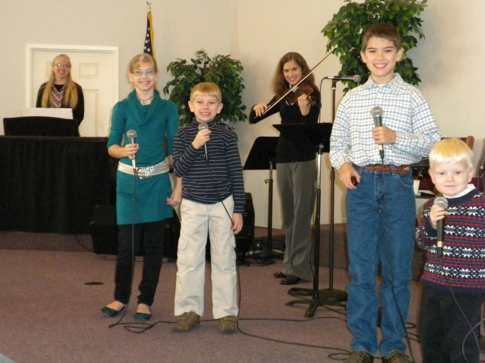 kids sing in Shreveport
