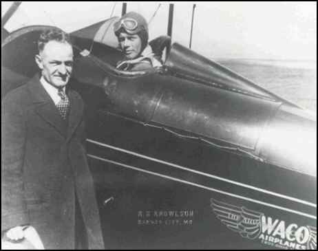 Tex Lagrone with Charles Lindbergh