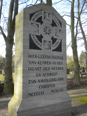 Thomas A Kempis memorial in Zwolle, NL